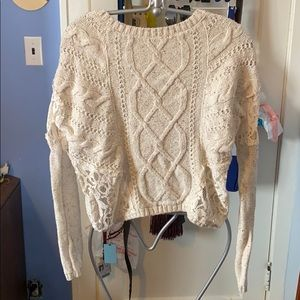 Hollister Cotton Wool-Look Sweater